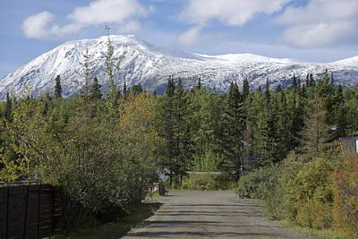 Photograph - Carcross Mountains by Richard J Cassato