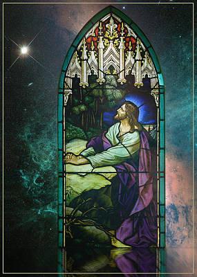 Photograph - Card Christmas Jesus by Robert G Kernodle