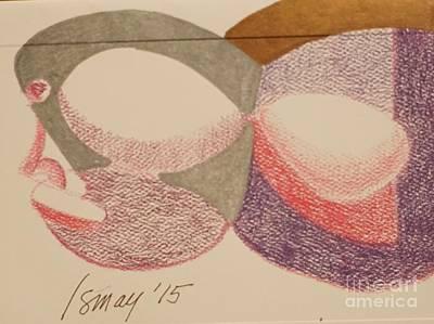 Card Egghead Art Print
