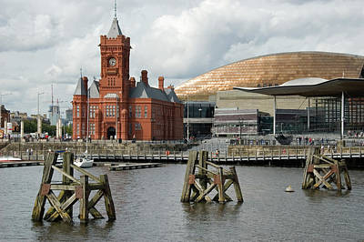Photograph - Cardiff Bay, Wales by Jeremy Voisey