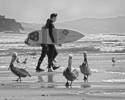 Photograph - Cardiff Locals by Dusty Wynne