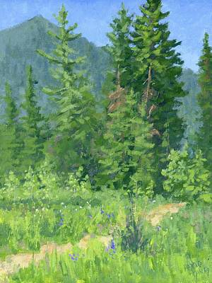 West Fork Painting - Cardiff Spring by David King