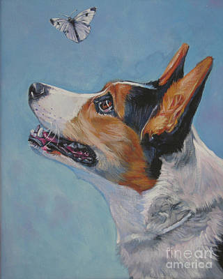 Painting - Cardigan Welsh Corgi by Lee Ann Shepard