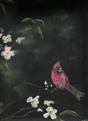 Cardinal 1 Art Print by Raymond Doward
