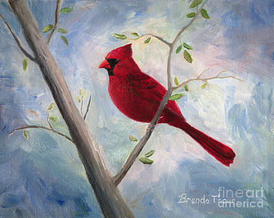 Painting - Cardinal by Brenda Thour