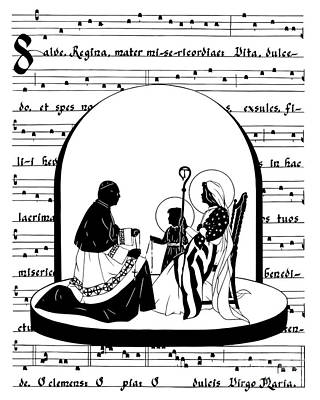 Painting - Cardinal Cooke Madonna - Dpccm by Dan Paulos