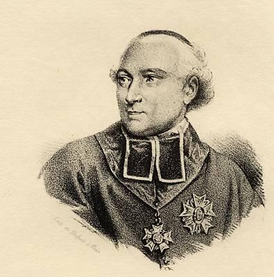 Cardinal Drawing - Cardinal Fesch,joseph Fesch,1763-1839 by Vintage Design Pics