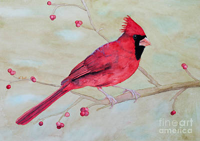 Painting - Cardinal II by Laurel Best