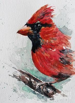Studio Grafika Vintage Posters - Cardinal by Leslie Hanner