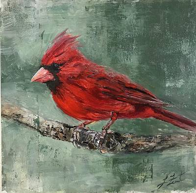 Painting - Cardinal by Lindsay Frost