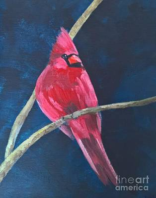 Painting - Cardinal by Lisa Dionne
