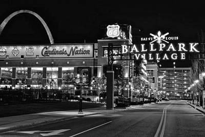 Photograph - Cardinal Nation Black And White by Frozen in Time Fine Art Photography