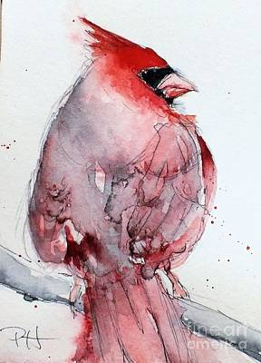 Painting - Cardinal by Patricia Henderson