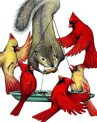 Cardinal Sin Art Print by Don McMahon