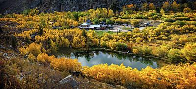 Photograph - Cardinal Village View In Autumn by Lynn Bauer