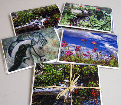 Photograph - Cards by Alana Thrower