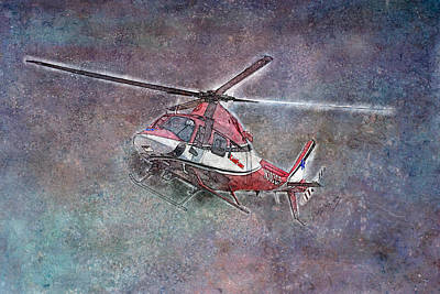 Mixed Media - Care Flight by David Wagner