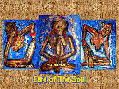Care Of The Soul Art Print by Donna Proctor