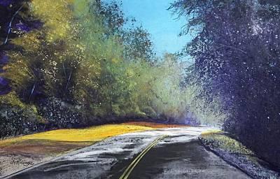 Pastel - Carefree Highway by Gary Edward Jennings