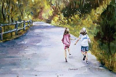 Philadelphia Pa Painting - Carefree by Joyce A Guariglia