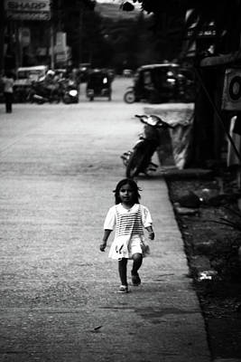 Photograph - Careful Child by Jez C Self