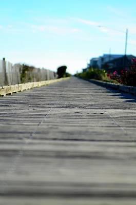 Photograph - Boardwalk by Mary Hahn Ward