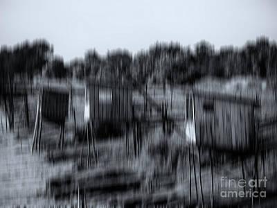 Photograph - Carelets Gironde Bw by Jorg Becker