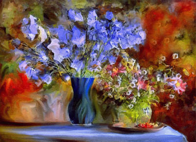 Painting - Caress Of Spring - Impressionism by Georgiana Romanovna
