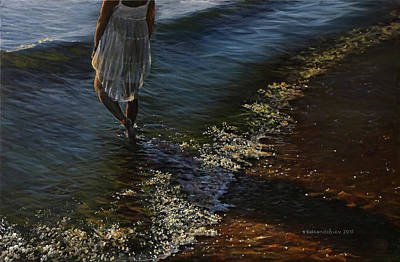 Painting - Caressed By The Sun by Valentin Katrandzhiev