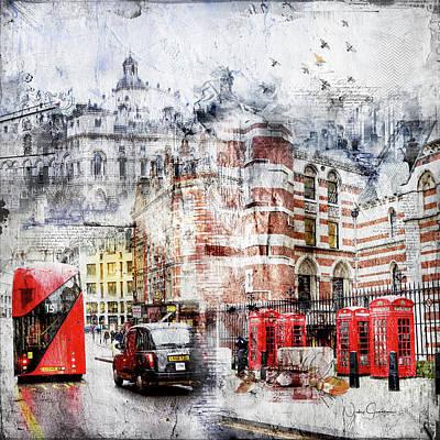Digital Art - Carey Street by Nicky Jameson