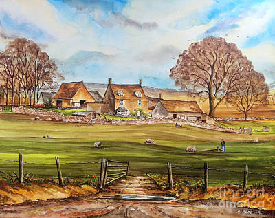 Carey's Farm Art Print by Andrew Read