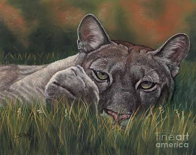 Art Print featuring the pastel Carez...i Has None by Sheri Gordon