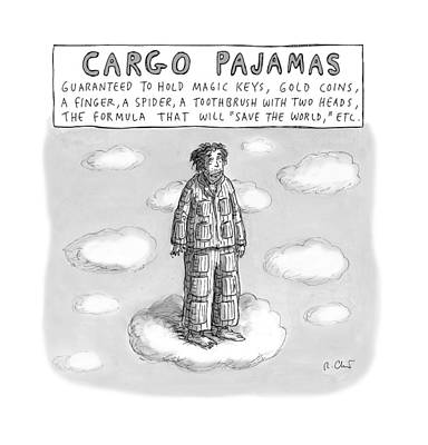 Formula Drawing - Cargo Pajamas by Roz Chast