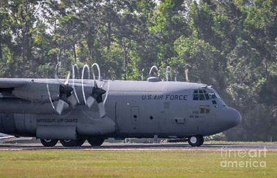 Photograph - Cargo Plane Taxi by Tom Claud