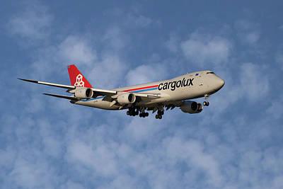 Cargolux Boeing 747-8r7 1 Art Print