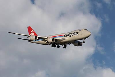 Cargolux Boeing 747-8r7 5 Art Print