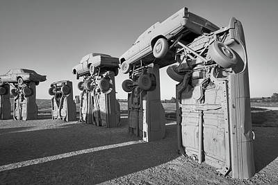 Photograph - Carhenge 2 by Jim Hughes