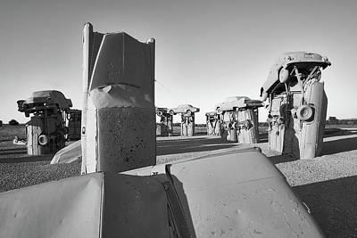 Stonehenge Photograph - Carhenge 4 by Jim Hughes
