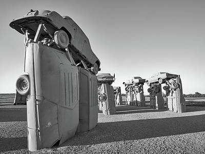 Photograph - Carhenge 5 by Jim Hughes