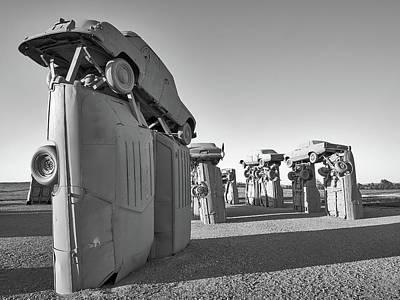 Stonehenge Photograph - Carhenge 5 by Jim Hughes