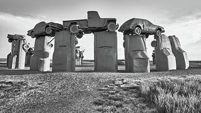 Photograph - Carhenge by Jim Hughes
