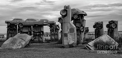 Photograph - Carhenge Nebraska 17 by Bob Christopher