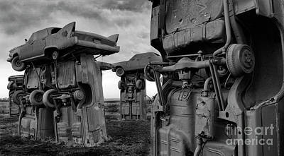 Photograph - Carhenge Nebraska 18 by Bob Christopher