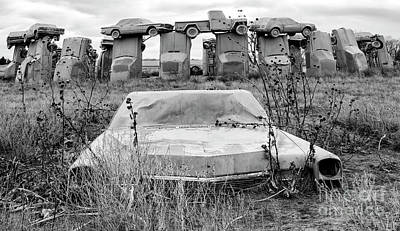 Photograph - Carhenge Nebraska 22 by Bob Christopher