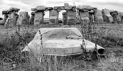 Photograph - Carhenge Nebraska 22 by Bob Christopher