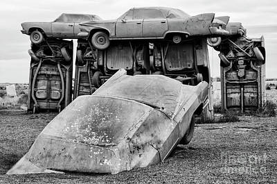 Photograph - Carhenge Nebraska 24 by Bob Christopher