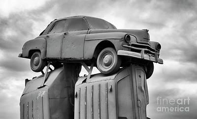 Photograph - Carhenge Nebraska 25 by Bob Christopher