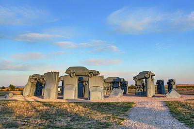 Photograph - Carhenge - Nebraska - Looking East by Nikolyn McDonald