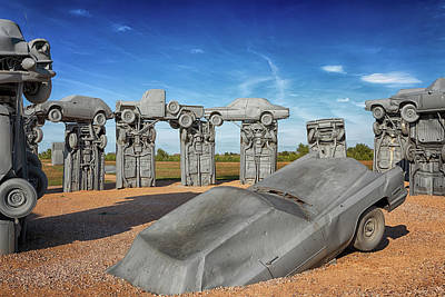 Photograph - Carhenge by Susan Rissi Tregoning