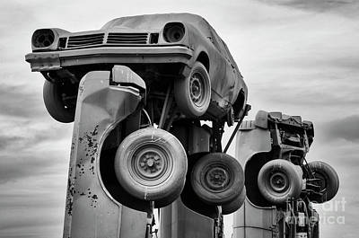 Photograph - Carhenge Nebraska 14 by Bob Christopher